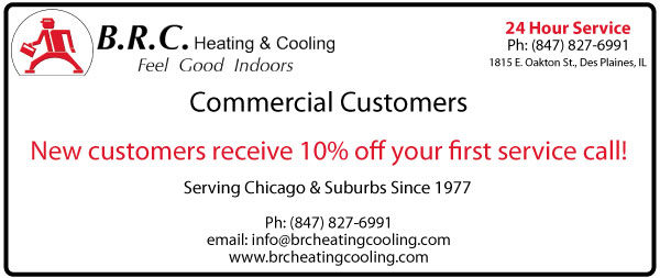 BRC Commercial Coupon New Customers