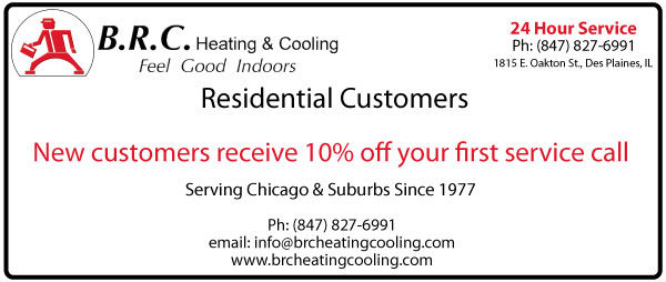 BRC Residential Coupon New Customer